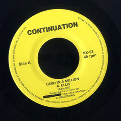 ALTON ELLIS / DEAN FRASER [Land In A Million / I Dig You Baby]