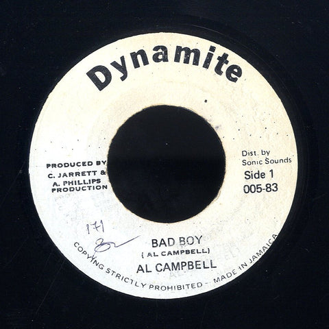 AL CAMPBELL [Bad Boy]