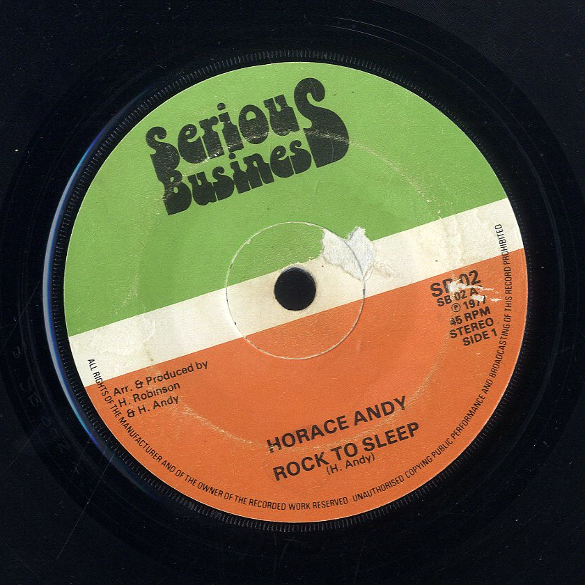 HORACE ANDY [Rock To Sleep]