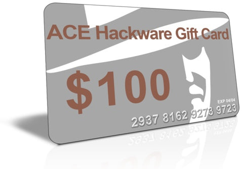 ace hackware gift card gift certificate