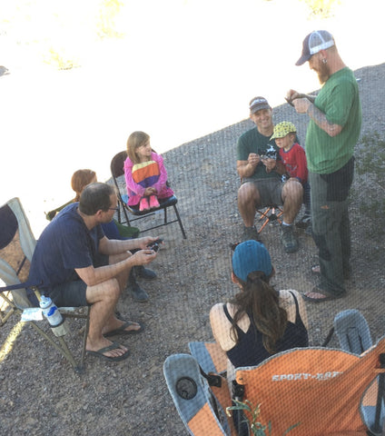 lockpicking class in the desert