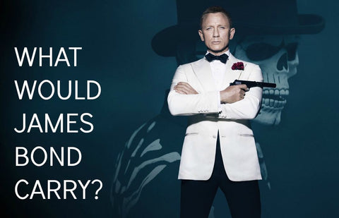 what would james bond carry edc