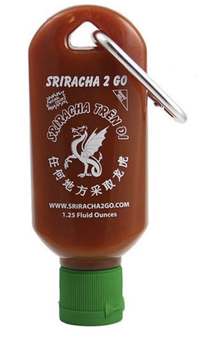 sriracha 2 go on a key chain