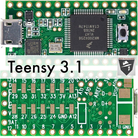 Teensy 3.1 USB Development Board