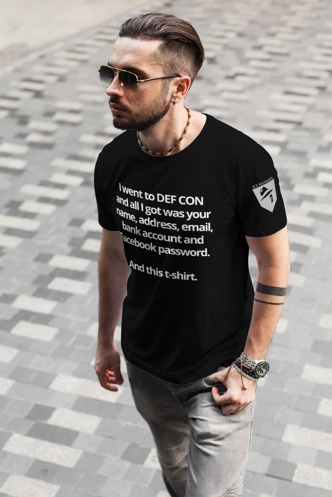 I Went To DEF CON... T-Shirt - Final Run