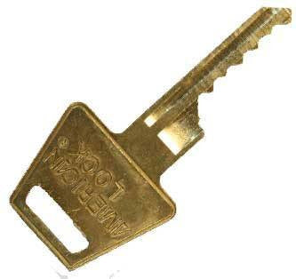 American AM7 Bump Key