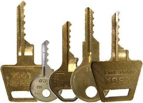 Small Pad Lock Bump Key Set