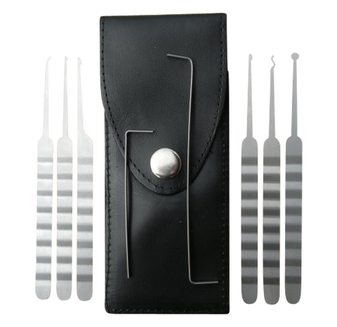 8 Piece Lock Pick Set