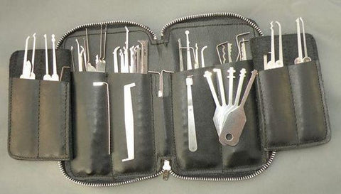 Deluxe 65 Piece Professional Lock Pick Set