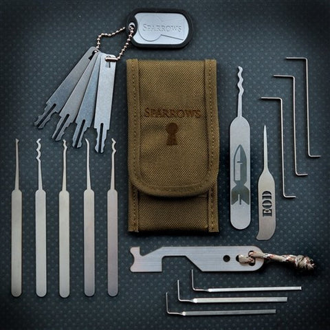 EOD and First Responder Lock Pick Set