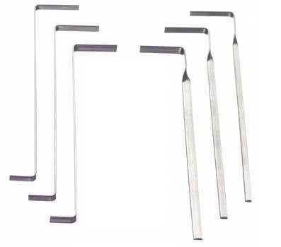 6pc Tension Wrench Set
