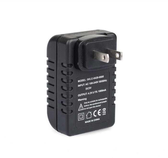 AC Adapter with Hidden 1080P Camera and WiFi (Black)