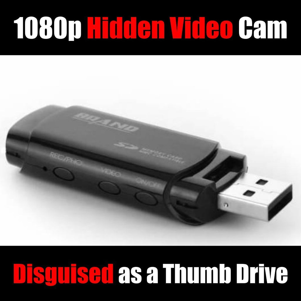 Thumb Drive Hidden Camera