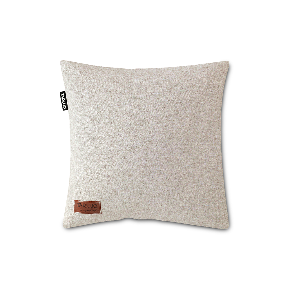 "Komfy 18"" Square Pillow - Silver Grey"