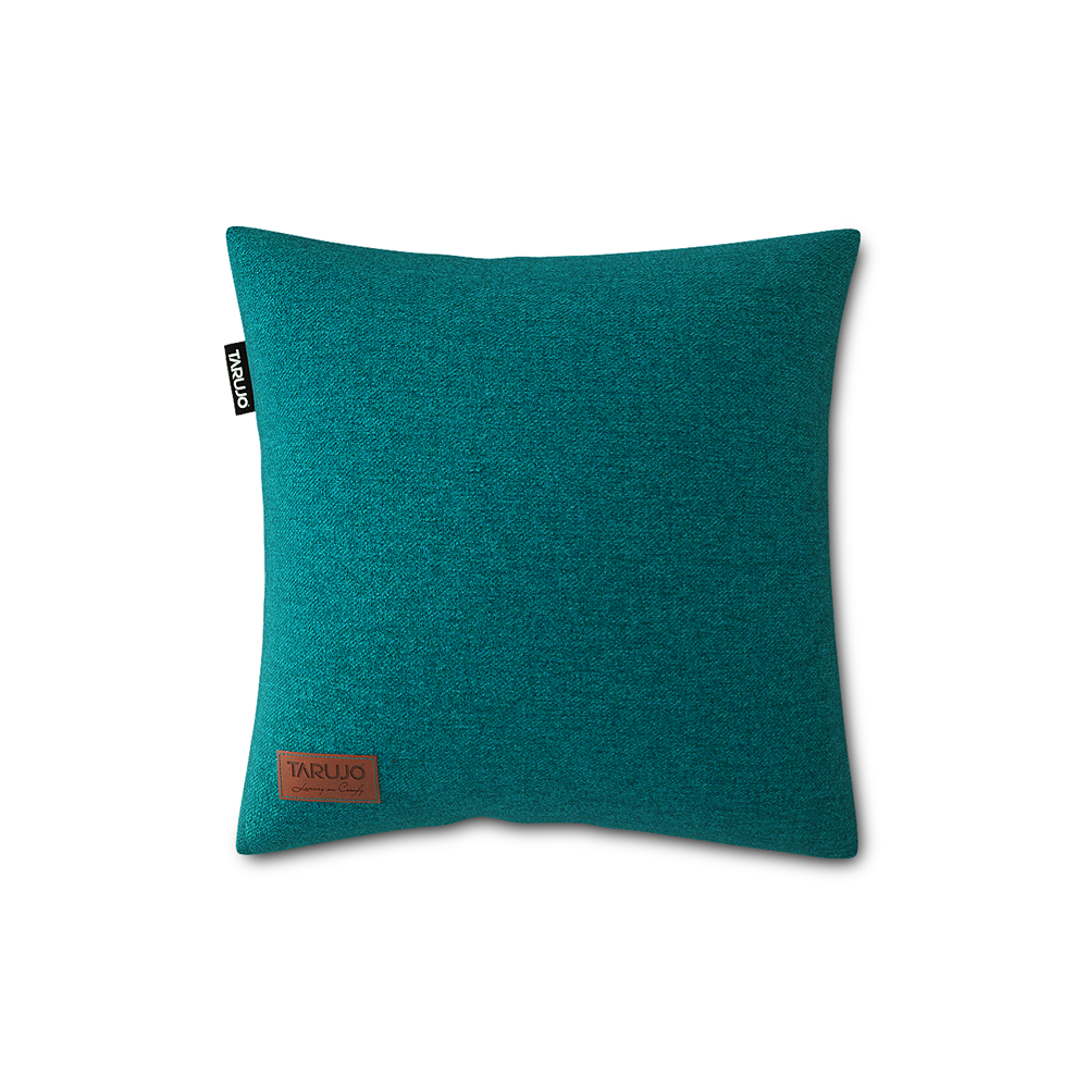 "Komfy 18"" Square Pillow - Emeral Green"