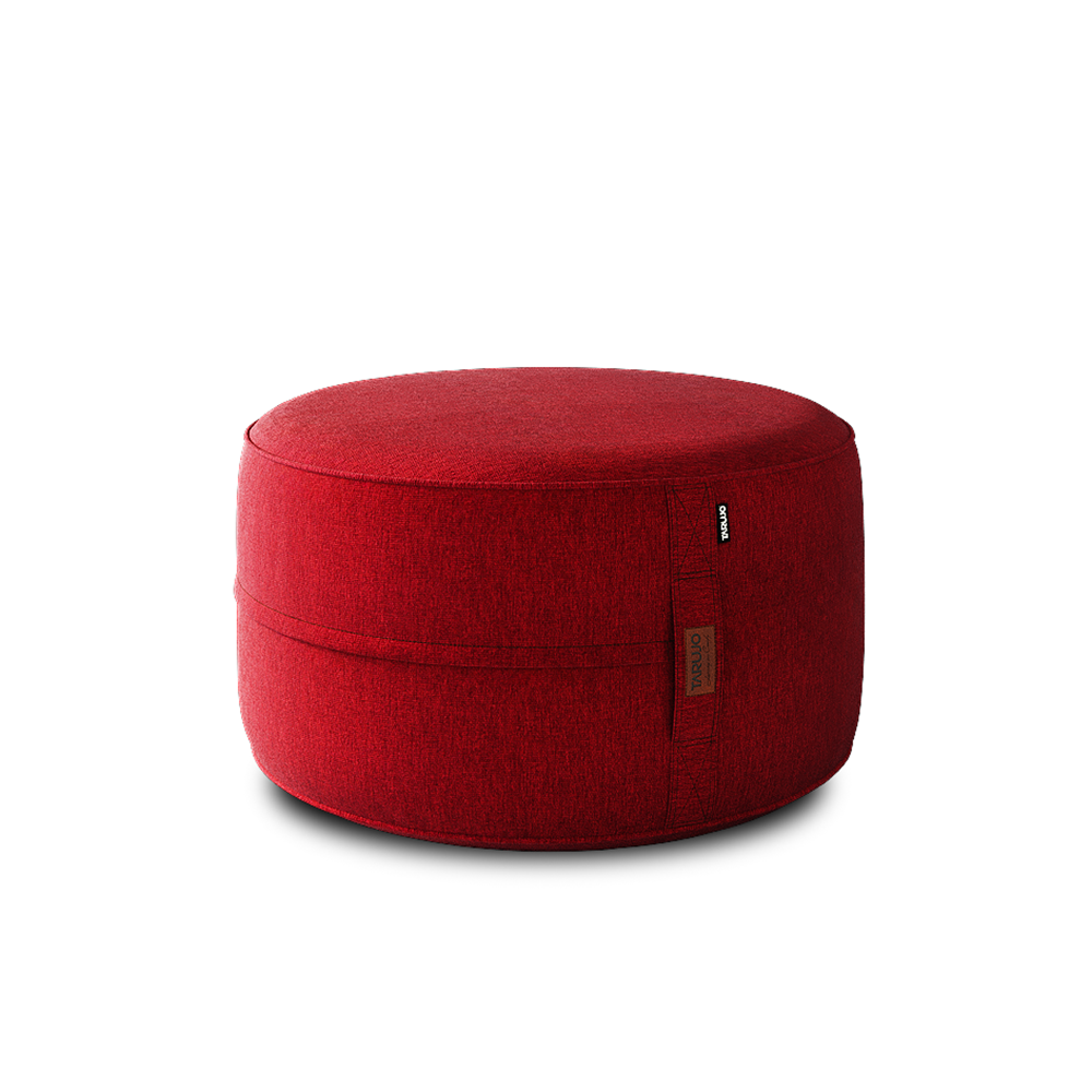 Brick Red - Paraiso indoor beanbag pouf