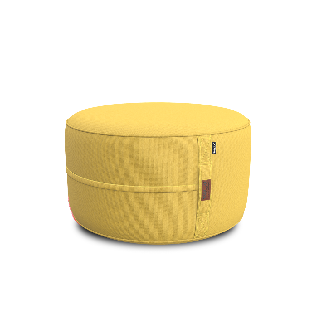 Pineapple Yellow - Paraiso indoor beanbag pouf