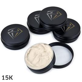 5 piece Set Stones White Diamond Polishing Paste 2oz (Q5)