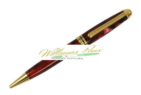 Copper Euro Pen Kits - Williams Pens & Turning Supplies.