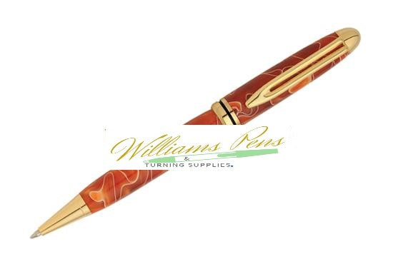 Gold Premium Designer Pen Kits - Williams Pens & Turning Supplies.