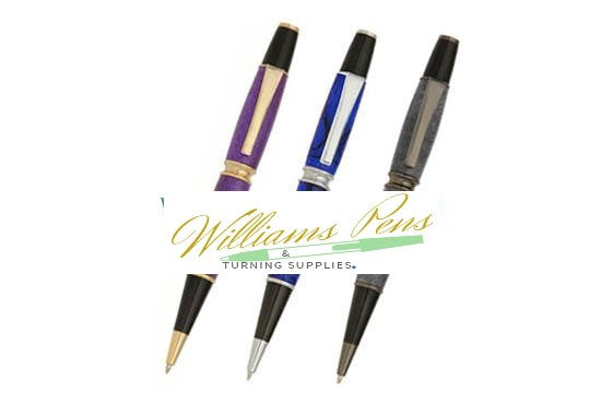 Gold Patricia Pen Kit - Williams Pens & Turning Supplies.