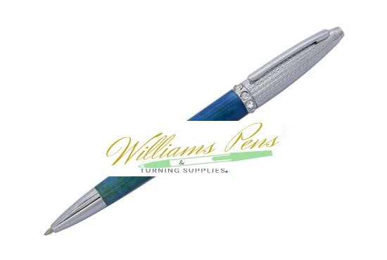 Chrome Marchesa Pen Kit - Williams Pens & Turning Supplies.