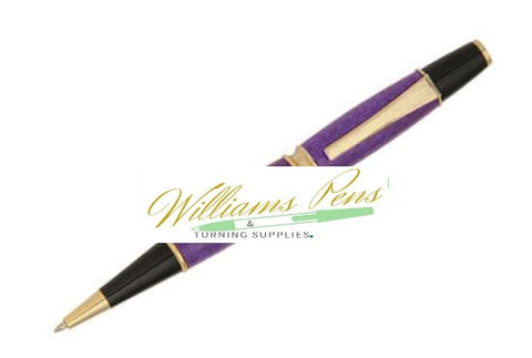 Chrome Patricia Pen Kit - Williams Pens & Turning Supplies.