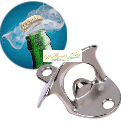 Stainless Steel Beer Bottle Opener - Williams Pens & Turning Supplies.