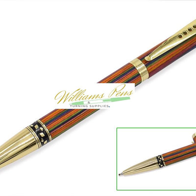 Gold Screwdriver Stylus Pen Kits - Williams Pens & Turning Supplies.