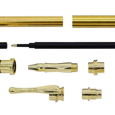 Gold AstonMatin Rollerball Pen Kits - Williams Pens & Turning Supplies.