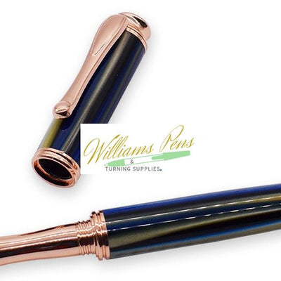 Copper AstonMatin Rollerball Pen Kits - Williams Pens & Turning Supplies.