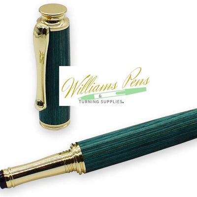 Gold AstonMatin Fountain Pen Kits - Williams Pens & Turning Supplies.
