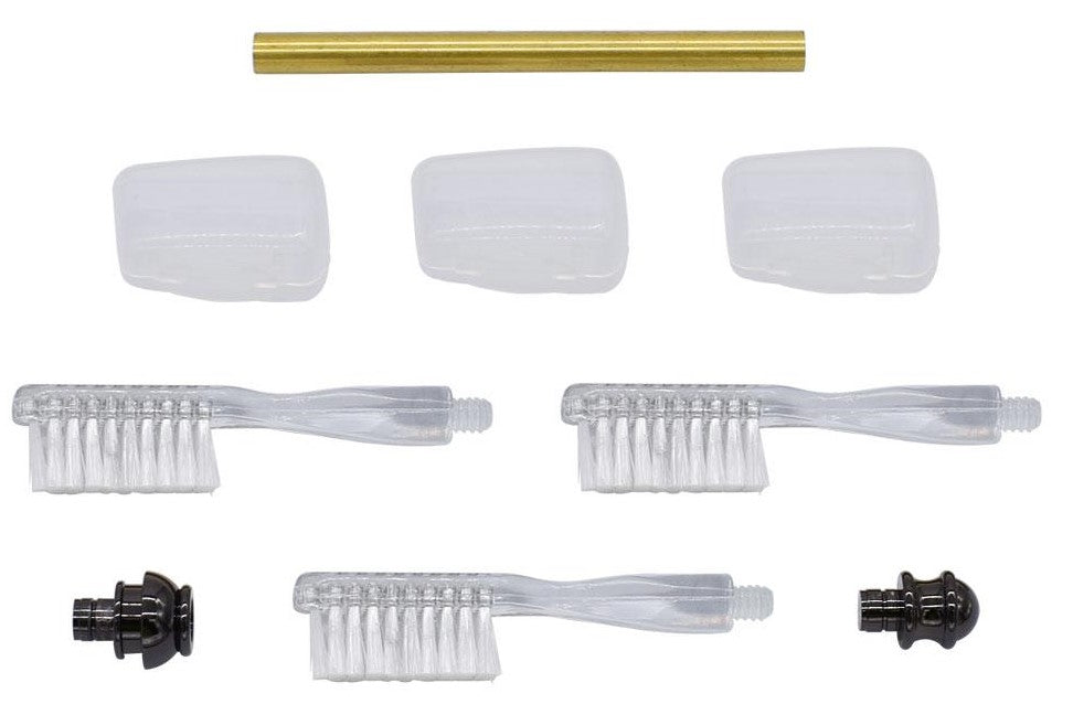 Gun Metal Toothbrush Handle Kits - Williams Pens & Turning Supplies.