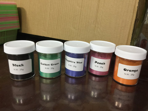 Mica Pigment 36# Nacarat - Williams Pens & Turning Supplies.