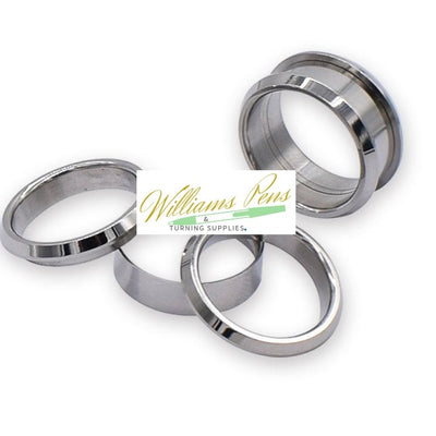 Stainless Steel Ring Core (3pcs/set,1pcs inner ring + 2pcs outside rings) Inside dimension: 22.3mm. Width size: 9mm
