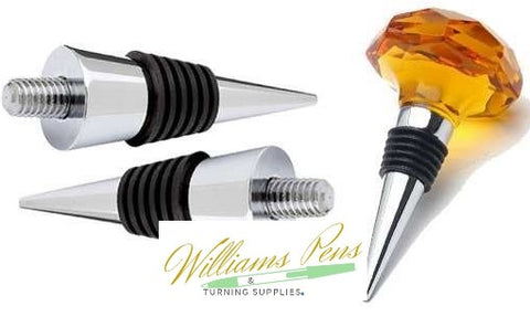 Gold Bottle Stopper - Williams Pens & Turning Supplies.