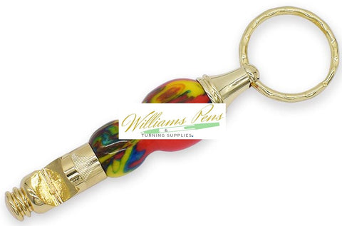 Gold Bottle Opener Key Chain Kits