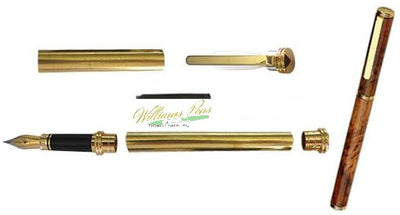 Gold Conservative Fountain Pen Kits
