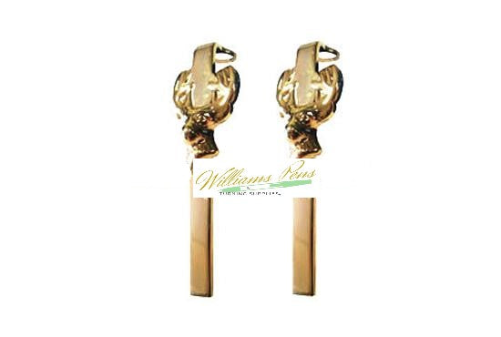 Gold Deer Clips for Fancy & Slimline Pen