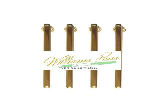 Gold Pen Clips for Slimline Pen & Pencil