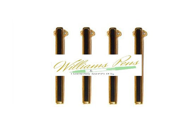 Gold Pen Clips with Black Stripe for Slimline Pen & Pencil