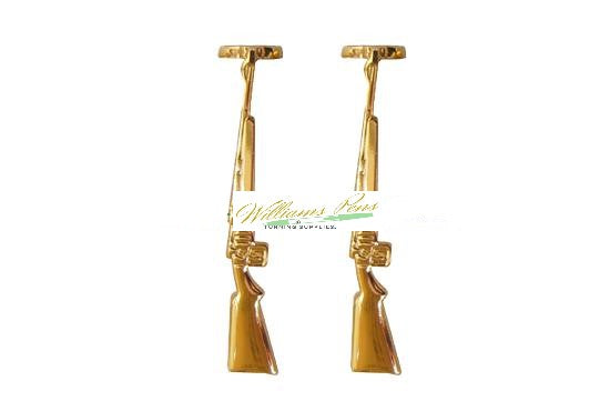 Gold Rifle Clips for Fancy & Slimline Pen etc