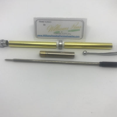 Fancy Pen Kit Satin Chrome - Williams Pens & Turning Supplies.