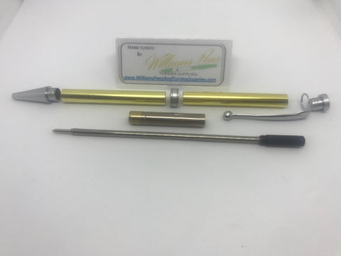 Fancy Pen Kit Blue Enamel - Williams Pens & Turning Supplies.
