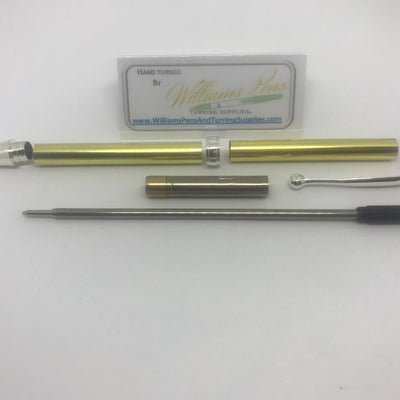 Fancy Pen Kit Silver - Williams Pens & Turning Supplies.