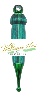 Green Christmas Tree Decoration Kits - Williams Pens & Turning Supplies.