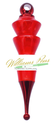 Red Christmas Tree Decoration Kits - Williams Pens & Turning Supplies.