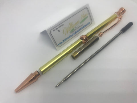 Fancy Pen Kit Copper - Williams Pens & Turning Supplies.