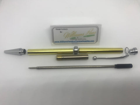 Fancy Pen Kit Chrome - Williams Pens & Turning Supplies.