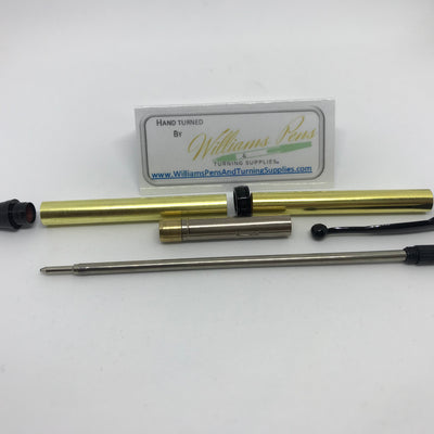 Fancy Pen Kit Black Enamel - Williams Pens & Turning Supplies.